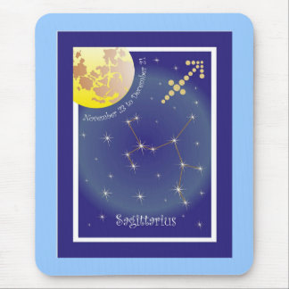 Sagittarius November 23 tons of December 21 mouse Mouse Pad