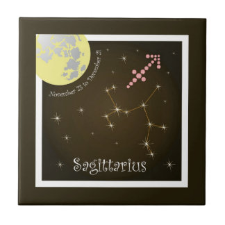 Sagittarius November 23 tons of December 21 photo Tile