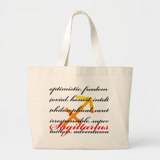 Sagittarius personality tote bags