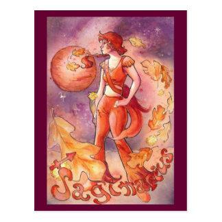 Sagittarius Postcard