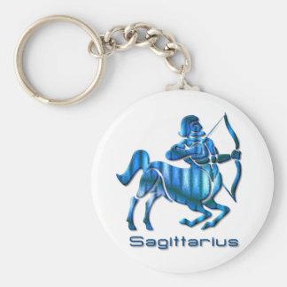 Sagittarius Profile Keychain