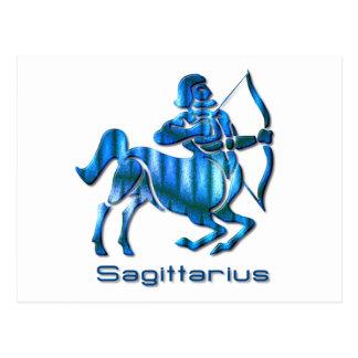Sagittarius Profile Postcard