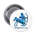 Sagittarius Profile Round Button