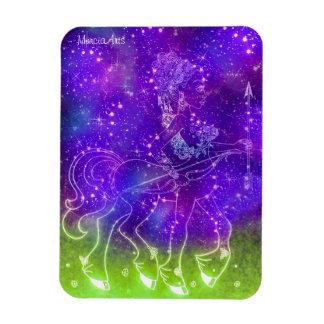 Sagittarius [Purple] Rectangular Magnet