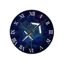 Sagittarius Round Clock