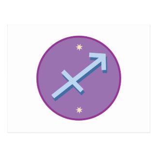 Sagittarius Sign Postcard