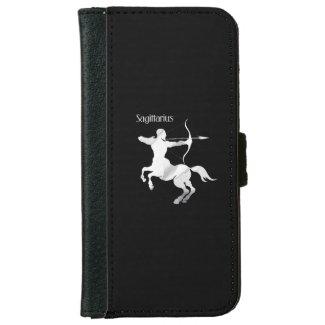 Sagittarius Silver Archer Zodiac iPhone 6 Wallet Case