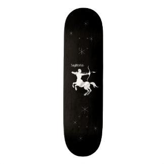 Sagittarius Silver Archer Zodiac Skateboard Deck