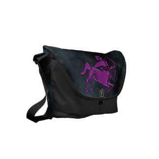 Sagittarius Small Messenger Bag