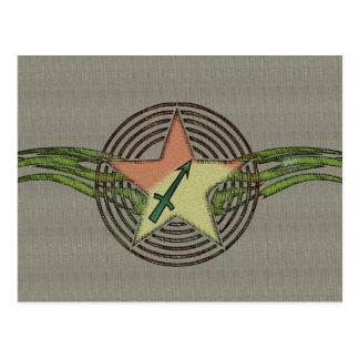 Sagittarius Star Postcard