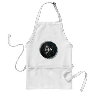 Sagittarius Star Sign Universe Crafts Cook Chef Adult Apron