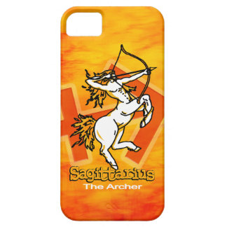 Sagittarius The Archer zodiac fire iphone 5 case
