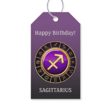 Sagittarius - The Archer Zodiac Sign Gift Tags