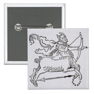 Sagittarius (the Centaur) an illustration from the Button