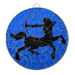Sagittarius, the centaur target dartboard