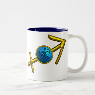 SAGITTARIUS Two-Tone COFFEE MUG