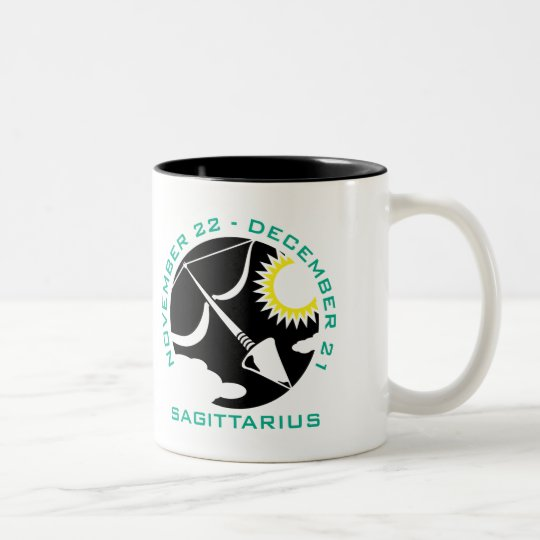 Sagittarius Two-Tone Coffee Mug