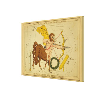 Sagittarius - Vintage Sign of the Zodiac Image