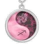 Sagittarius Yin Yang Custom Necklace