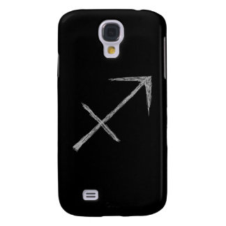 Sagittarius Zodiac Astrology Sign Black Samsung Galaxy S4 Case