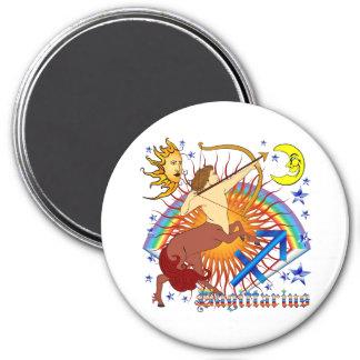 Sagittarius-Zodiac-Design-V-1 3 Inch Round Magnet
