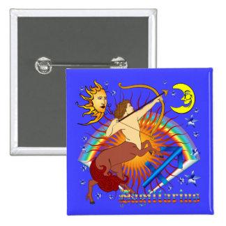 Sagittarius-Zodiac-Design-V-1 Pinback Button