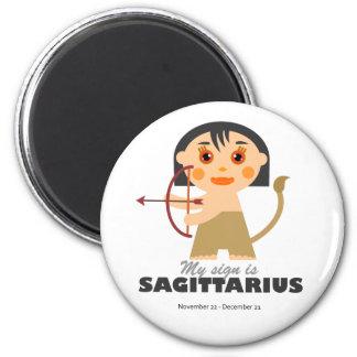 Sagittarius Zodiac for kids Magnet