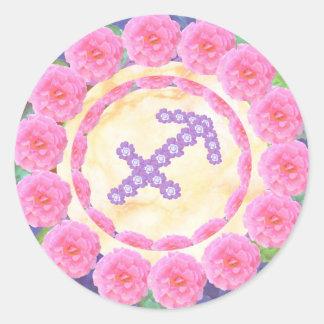 SAGITTARIUS   -  Zodiac  Shining STAR Stickers