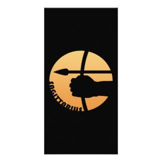 Sagittarius Zodiac Sign Card