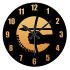 Sagittarius Zodiac Sign Large Clock