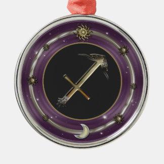 Sagittarius Zodiac Sign Christmas Ornaments