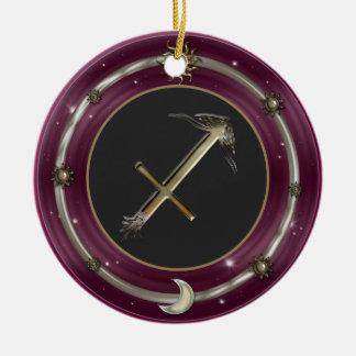 Sagittarius Zodiac Sign Ornaments