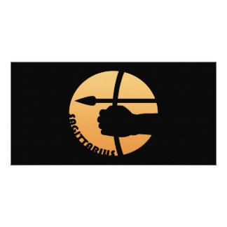 Sagittarius Zodiac Sign Personalized Photo Card