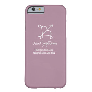 Sagittarius Zodiac Sign The Archer Orchid Haze Barely There iPhone 6 Case