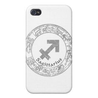 Sagittarius Zodiac sign vintage iPhone 4 Case
