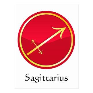 Sagittarius - Zodiac Signs Postcard