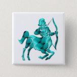 Sagittarius Zodiac Square Pin