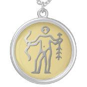 Sagittarius Zodiac Star Sign Light Silver necklaces