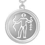 Sagittarius Zodiac Star Sign Premium Silver necklaces