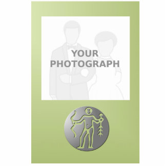 Sagittarius Zodiac Star Sign Premium Silver Standing Photo Sculpture