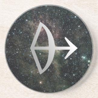 Sagittarius Zodiac Star Sign Universe Coaster