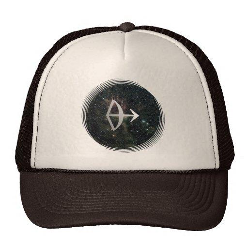 Sagittarius Zodiac Star Sign Universe Trucker Hat