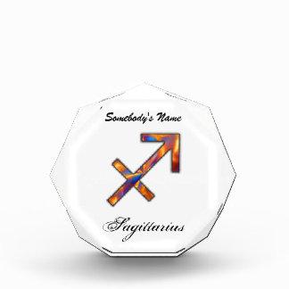 Sagittarius Zodiac Symbol Element Award