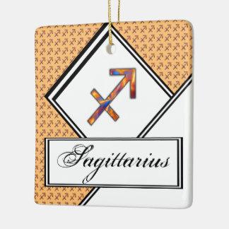 Sagittarius Zodiac Symbol Element Ceramic Ornament