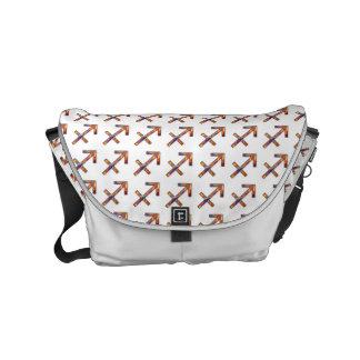 Sagittarius Zodiac Symbol Element Small Messenger Bag