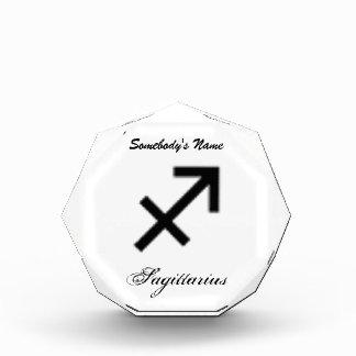 Sagittarius Zodiac Symbol Standard Acrylic Award
