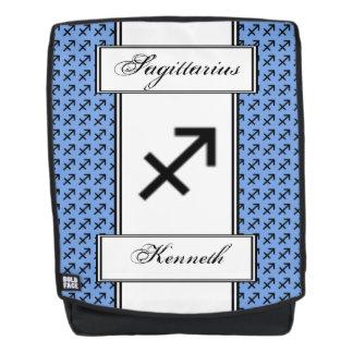 Sagittarius Zodiac Symbol Standard by K Yoncich Backpack