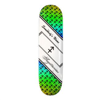 Sagittarius Zodiac Symbol Standard Skateboard Deck