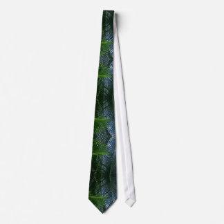 Sago Palm Fronds Neck Tie