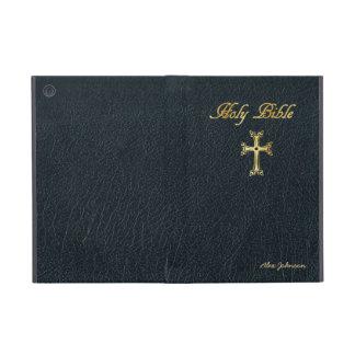Sagrada Biblia con imitación de cuero iPad Mini Cobertura